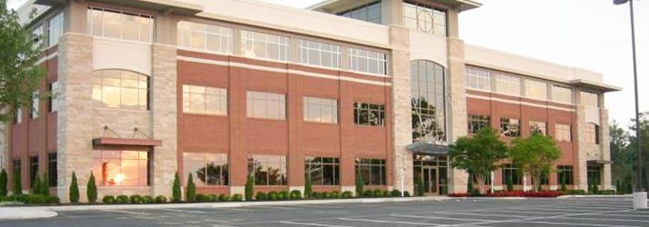 Chiropractic Midlothian VA office building